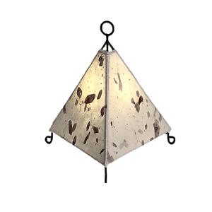 Mini Paper Pyramid Lamp
